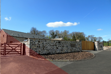 Stone Walling Service South Wales