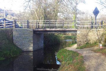 Civil Construction Work Bridge Rebuild Monmouthshire South Wales