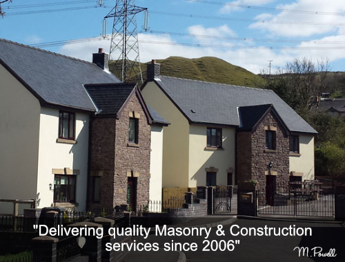 Martin Powell Building Services Abergavenny South Wales - Stone Masonry Specialist Project