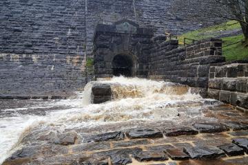 Civil Construction Work Ponsticill Reservoir - M Powell Abergavenny South Wales