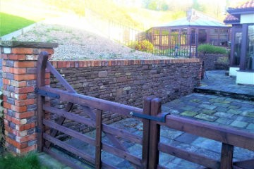 Retaining Wall - Stone Wall Construction South Wales - M Powell Abergavenny
