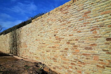 Retaining Walls South Wales - M Powell Abergavenny
